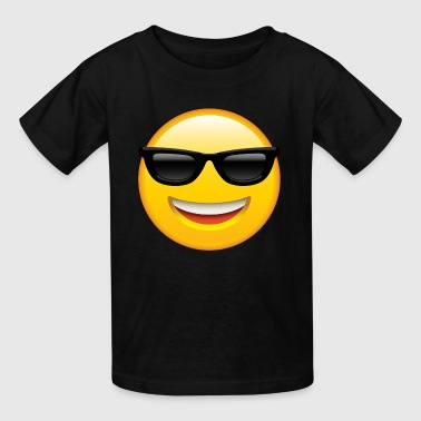 Happy Face SMILEY FACE EMOTICON - Kids' T-Shirt