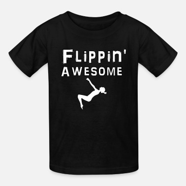 Tumble Flippin Awesome - Kids' T-Shirt