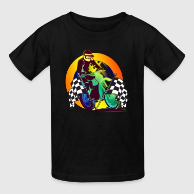 Toddler Motocross Racing Off Road Vehicle T Shirts - Kids' T-Shirt