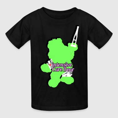 Care Bears Funny Intensive Care Bear Green - Kids' T-Shirt