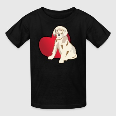 Golden Retriever,Retriever Dog Puppy T shirts - Kids' T-Shirt