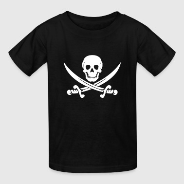 PIRATE (wht) - Kids' T-Shirt