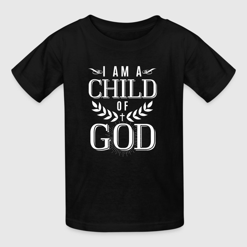 I am a child of God - christian design - Kids' T-Shirt