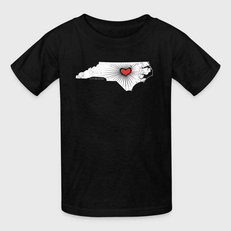 Raleigh Love - NC State Wolfpack - white/red - Kids' T-Shirt