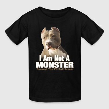 Pit Bull Terrier Respect - Kids' T-Shirt