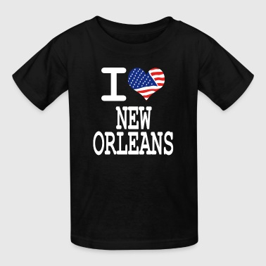 i love new orleans - white - Kids' T-Shirt