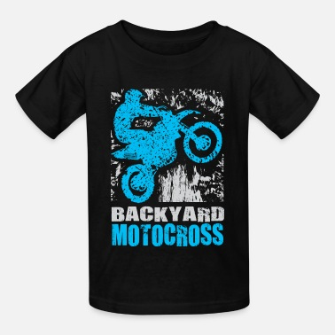 Motocross Events Backyard Motocross Yamaha - Kids' T-Shirt