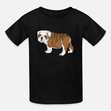Puppy Bulldog Bulldog Puppy - Kids' T-Shirt