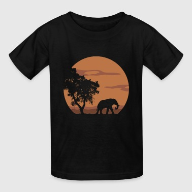 Landscapes Kids elephant - Kids' T-Shirt