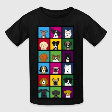 18 dogs - Kids' T-Shirt
