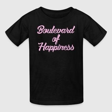 Boulevard of Happines - Kids' T-Shirt