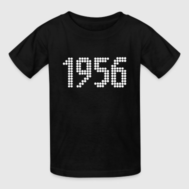 1956, Numbers, Year, Year Of Birth - Kids' T-Shirt