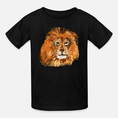 Lion Dog Lion African Safari T shirt - Kids' T-Shirt