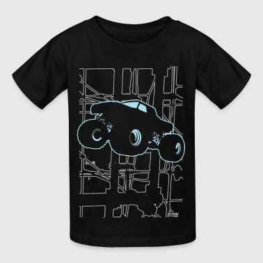 Monster Truck Electronica - Kids' T-Shirt