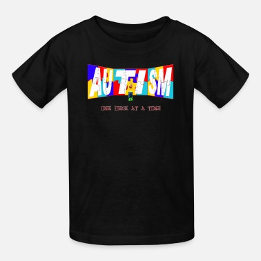 Piece AUTISM ONE  PIECE AT A TIME - Kids' T-Shirt