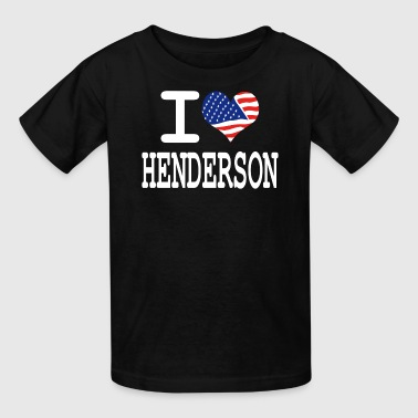 Logan i love henderson - white - Kids' T-Shirt