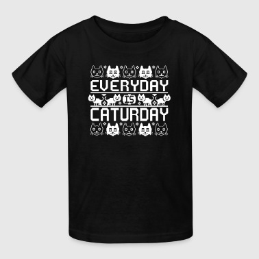 Every Day Is Caturday - Kids' T-Shirt