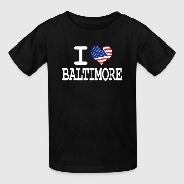 I Love Baltimore i love baltimore - white - Kids' T-Shirt