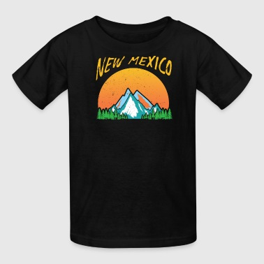 Retro New Mexico Design - Kids' T-Shirt