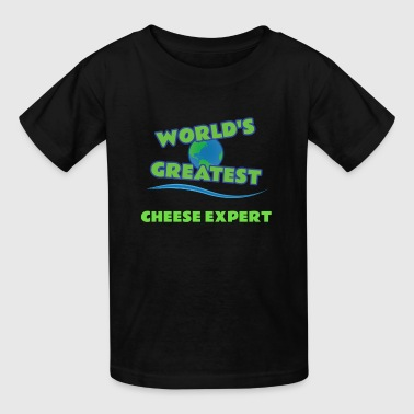 CHEESE EXPERT - Kids' T-Shirt