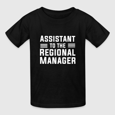Assistant To The Regional Manager T Shirt - Kids' T-Shirt