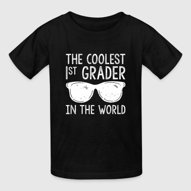 First grader school enrollment design - Kids' T-Shirt