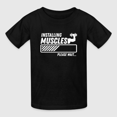 Gym Fitness - Kids' T-Shirt