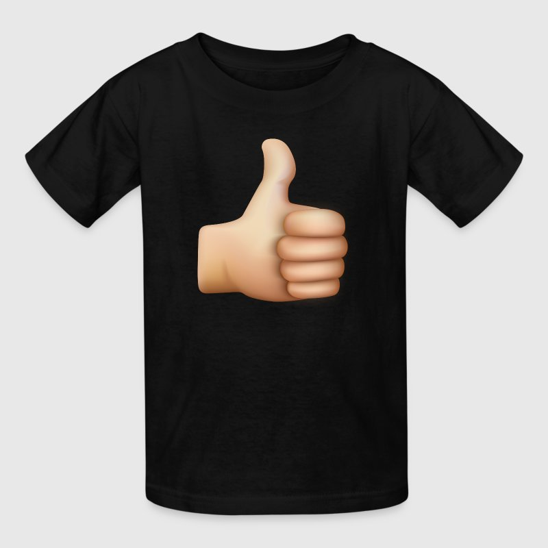 THUMBS UP EMOTICON - Kids' T-Shirt