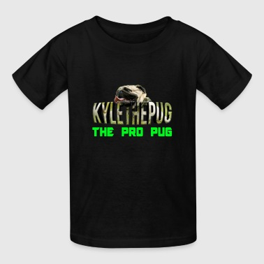 Kyle The Pug Logo YouTube - Kids' T-Shirt