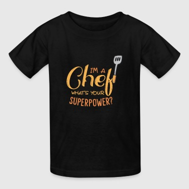Chef cook - Kids' T-Shirt