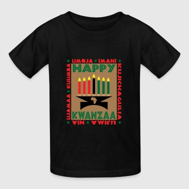 Happy Kwanzaa - Kids' T-Shirt