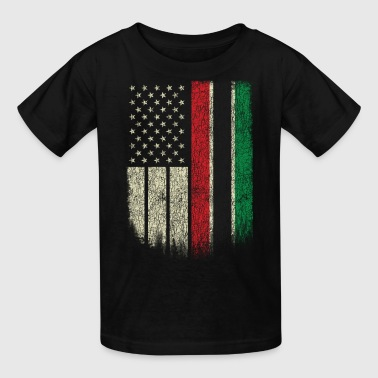 African American Flag Pan African UNIA Flag - Kids' T-Shirt