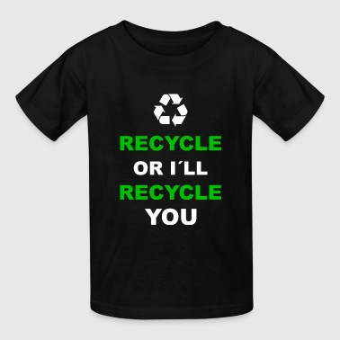 Recycle Recycling Environment Earth Day - Kids' T-Shirt