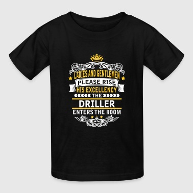 DRILLER - Kids' T-Shirt