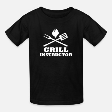 Grill Instructor Grill Instructor - Kids' T-Shirt