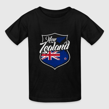 New Zealand Flag - Kids' T-Shirt