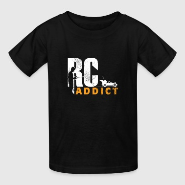 Addiction Kids RC Addict car remote gift kids present - Kids' T-Shirt