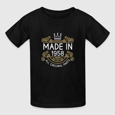 Made In 1958 All Original Parts - Kids' T-Shirt