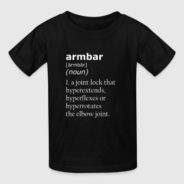 Armbar Definition - Kids' T-Shirt