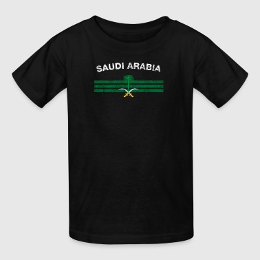 Saudi or Saudi Arabian Flag Shirt - Saudi or Saudi - Kids' T-Shirt