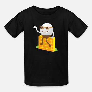 Humpty Dumpty cute little humpty dumpty - Kids' T-Shirt