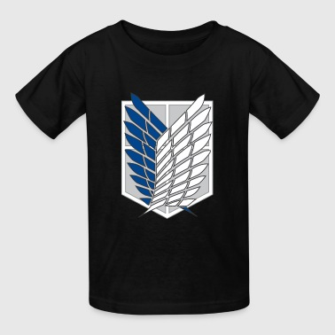 attack on titans recon corps - Kids' T-Shirt