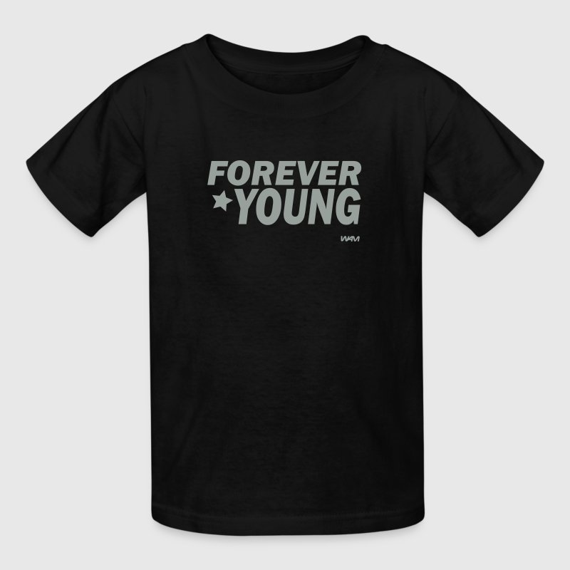 forever young by wam - Kids' T-Shirt