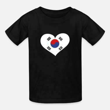 South Korea Seoul South Korea Heart; Love South Korea - Kids' T-Shirt