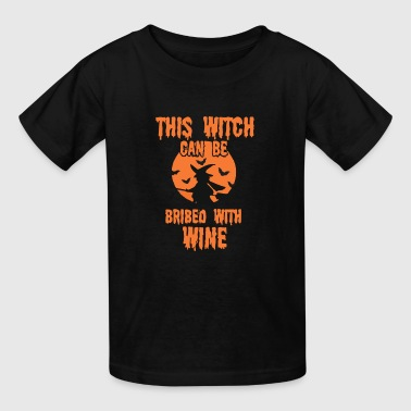 WINE WITCH - Kids' T-Shirt