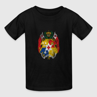 Tongan Coat of Arms Tonga Symbol - Kids' T-Shirt
