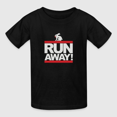Run Away Rabbit - Kids' T-Shirt