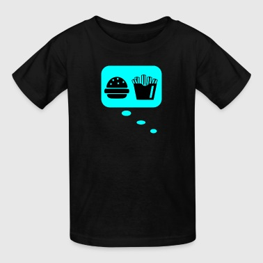 thinking about takeaway - Kids' T-Shirt