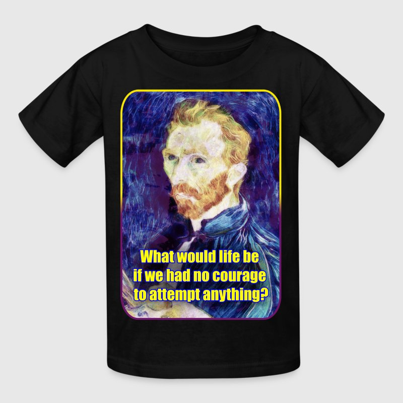 Vincent van Gogh - Quote - Painting - Art - Artist - Kids' T-Shirt
