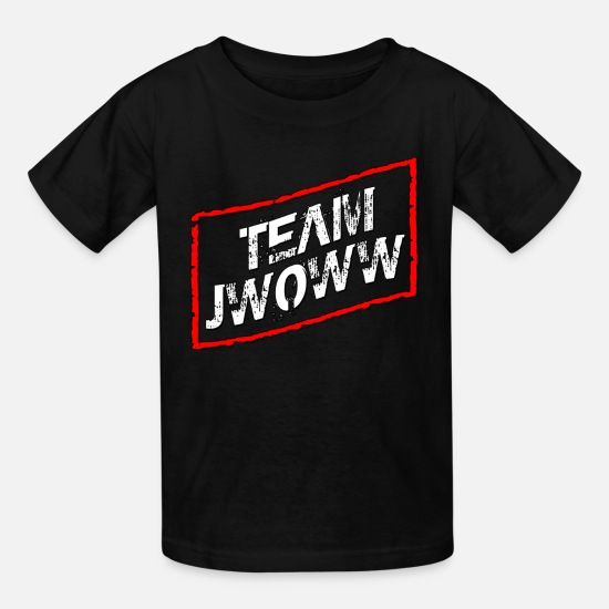 Jwoww T-Shirts - Team Jwoww Jersey Shore - Kids' T-Shirt black